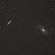 Bodes & Cigar Galaxies - Messier 81 (M81) & Messier 82 (M82),                                Killie