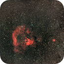 NGC7822 (Cederblad 214) wide field / Canon 60D mod + Samyang 135mm f/2.0  / SW star adventurer / ISO 640,                                patrick cartou