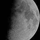 Moon on 20.04.2021 - three panel mosaic,                                Valery Sytkin