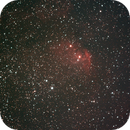 Sh2-101 (Tulip nebula) - 130 120 secs unguided subs on the 12th of May,                                Stefano Ciapetti