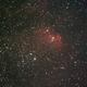 Sh2-101 (Tulip nebula) - 130 120 secs unguided subs on the 12th of May,                                Stefano Ciapetti