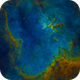 Heart Nebula (Sh2-190) SHO,                                Miles Zhou