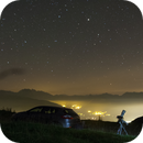 light pollution and star,                                Frédéric Tapissier