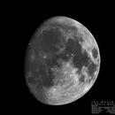 The Waxing Gibbous Moon - 82%,                                Patrik Daňa
