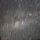 Startrails of the Milky Way,                                Gabriel R. Santos (grsotnas)