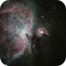 Orion Nebula close-up,                                Steffen Boelaars