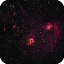 IC 405 Flaming Star Nebula.,                                David Cocklin