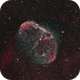 NGC6888 - The Crescent Nebula,                    wadeh237