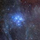 M45 in the dust,                                  Roberto Colombari