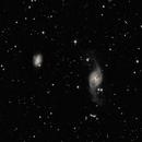 NGC 3718 (Arp 214) and NGC 3729 in Ursa Major + Hickson 56,                                Mau_Bard