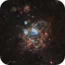 Evading the Spider (NGC 1760),                                Todd