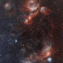 LMC - Bicolor Image_ Hubble Palette Style,                                Eric Coles (coles44)