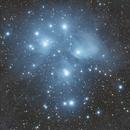 The Pleiades M45,                                Damian Costello
