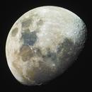 Waxing Gibbous Moon,                                Dario Harari