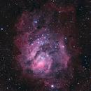 M8 - Lagoon nebula,                                Mathieu Maréchal