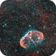 Crescent Nebula HOO,                                llolson1