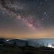 The rising Milky Way,                                KAZUHIRO NONOMURA