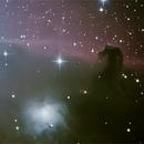 IC434 - B33 - Crop sur la Nébuleuse de la Tête de Cheval (Horsehead Nebula),                                Astroluc63