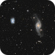 NGC 3718, NGC 3729 and Hickson 56,                                Peter Goodhew