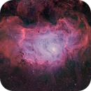 M8 - Lagoon Nebula in HOO (SHO Lum Layer),                                Janco