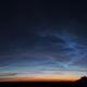 Noctilucent clouds (NLC) - 17.06.2019 display,                                Łukasz Sujka
