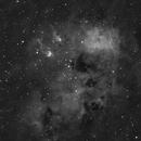 IC410 Ha,                                Tiflo