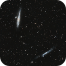 NGC 4656 and NGC 4631 the Whale and the Hockey stic galaxies,                                Riedl Rudolf