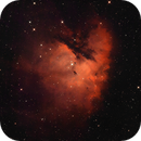 Pacman Nebula - NGC 281 Dual Narrowband,                                Dale Penkala