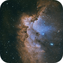 NGC 7380 - Wizard nebula,                                bits__please