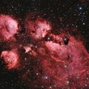 NGC6334 - Cat's paw in HaLRGB,                                  Eduardo Oliveira