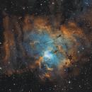 NGC 1491 - Fossil Footprint Nebula,                                Monkeybird747