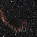 La grande dentelle du Cygne le 20 juin 2015 (NGC 6992),                                Laurent3112