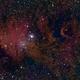 NGC 2264 - Cone Nebula and Christmas Tree Cluster in HOS,                                  Uwe Deutermann