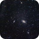 Galaxies M81, M82 and the Ultra-Faint Integrated Flux Nebula,                                Roger Clark