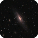 NGC7331 from the suburbs,                                lowenthalm