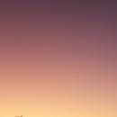 Violet sunset caused by volcanoes,                                Petr Hykš