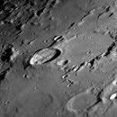 Earth's Moon - Craters Anaxagoras, Epigenes - Walled Plane Goldschmidt,                                maxgaspa