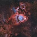 IC1795 & NGC896 - The Fish Head Nebula - Bi-Color,                                Francesco Battist...