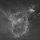 The Heart Nebula -- IC1805,                                Wayne Jaeschke