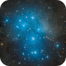 "Messier 45 The Pleiades ""Seven Sisters"" mosaic,                                Barry Wilson"