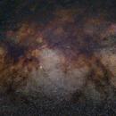 Milky Way (M11, M16, M17, M18, M24, M25, M26),                                Lorenzo Palloni