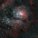 Lagoon Nebula M8,                                Lachezar Krastev