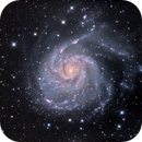 Pinwheel Galaxy (M101) in HaLRGB,                                Jose Carballada