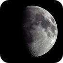 Evening moon with 750mm,                                pmneo