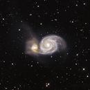 Messier 51,                                Björn Gludau