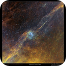 Filaments of Cygnus with couple of planetary nebulae,                                Metsavainio