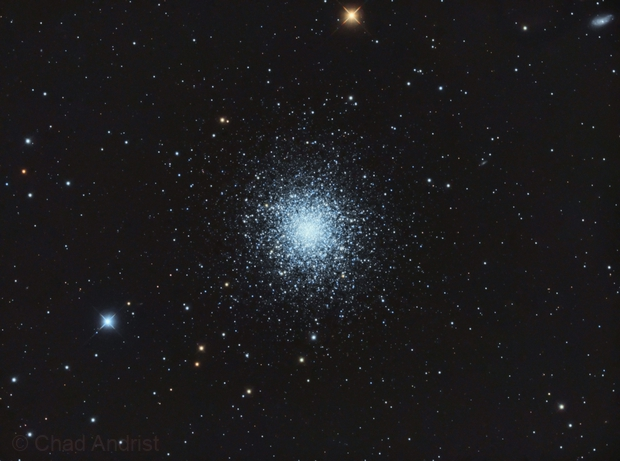 M13 Great Hercules Cluster,                                Chad Andrist