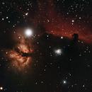 Horsehead and Flame Nebula,                                effortingastro