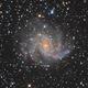 NGC6946 the Fireworks Galaxy,                                Albert van Duin