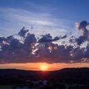 Sunset from Backyard,                                John Travis